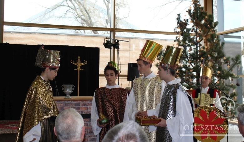 Magyarok karácsonya Ópusztaszeren