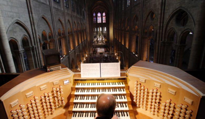 Megmenekült a Notre-Dame orgonája