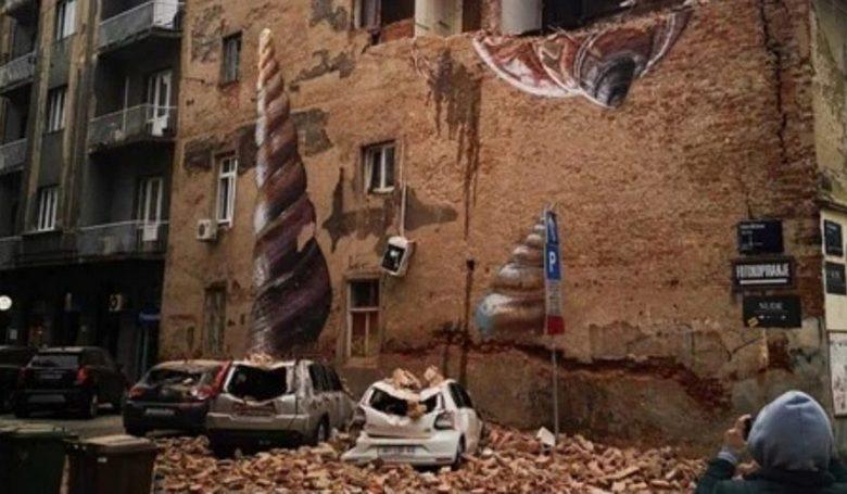 Nincs emberáldozata a zágrábi földrengésnek