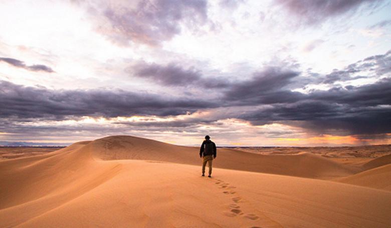 Sivatagban: önmagad vagy