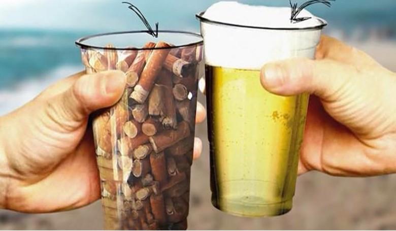 Egy pohár sör – egy pohár csikkért