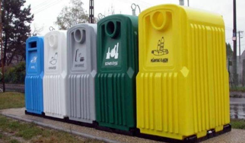 Nőtt a szelektíven gyűjtött hulladék aránya
