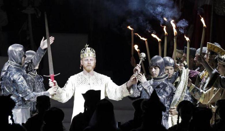 Ma látható először a hetedik Koronázási Szertartásjáték