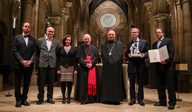 A magyarországi Szent Egyed Közösség kapta a Szent Márton díjat