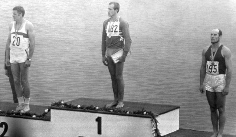 Az 1968-as mexikói olimpia négy bajnokát köszöntötték