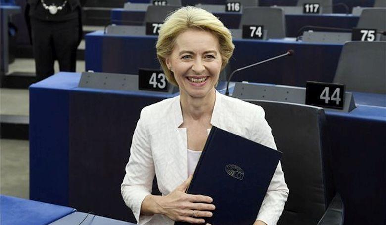Megválasztották Ursula von der Leyent az Európai Bizottság elnökévé