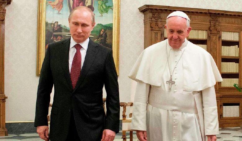 Ferenc pápa Putyinnal találkozott