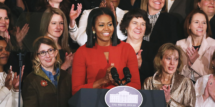 A leköszönő first lady jól megmondta