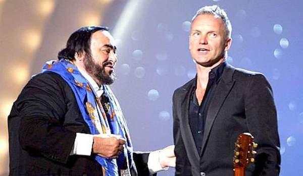Pavarotti, Sting és Aquinói Szent Tamás egy színpadon