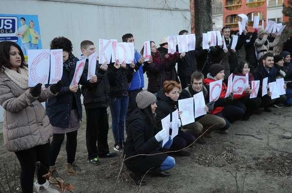 Gyűlölködésre összefogással válaszoltak Pécsen
