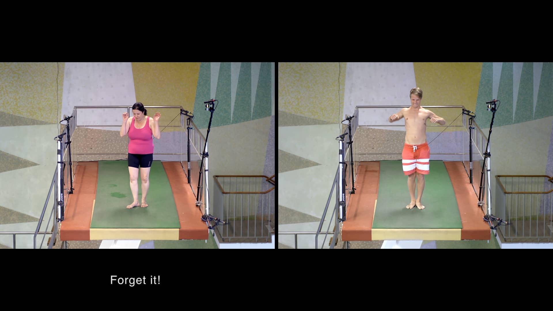 10 méterről vízbe csapódni - te leugranál?