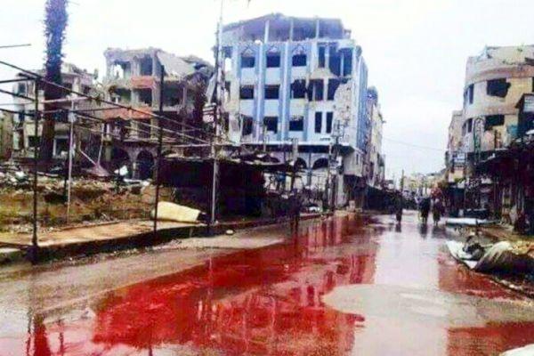 Szíriában folyamatosan Nagypéntek van