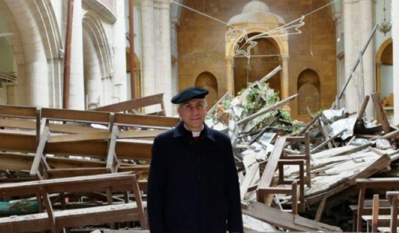 Újra a híveké a Szent Illés Katedrális Aleppóban