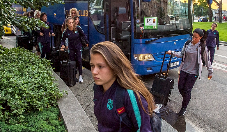 Budapesten rendezik a BL-döntőt, a Barcelona csapata meg is érkezett