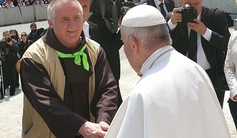 Böjte Csaba: Két dolgot kérnék Ferenc pápától