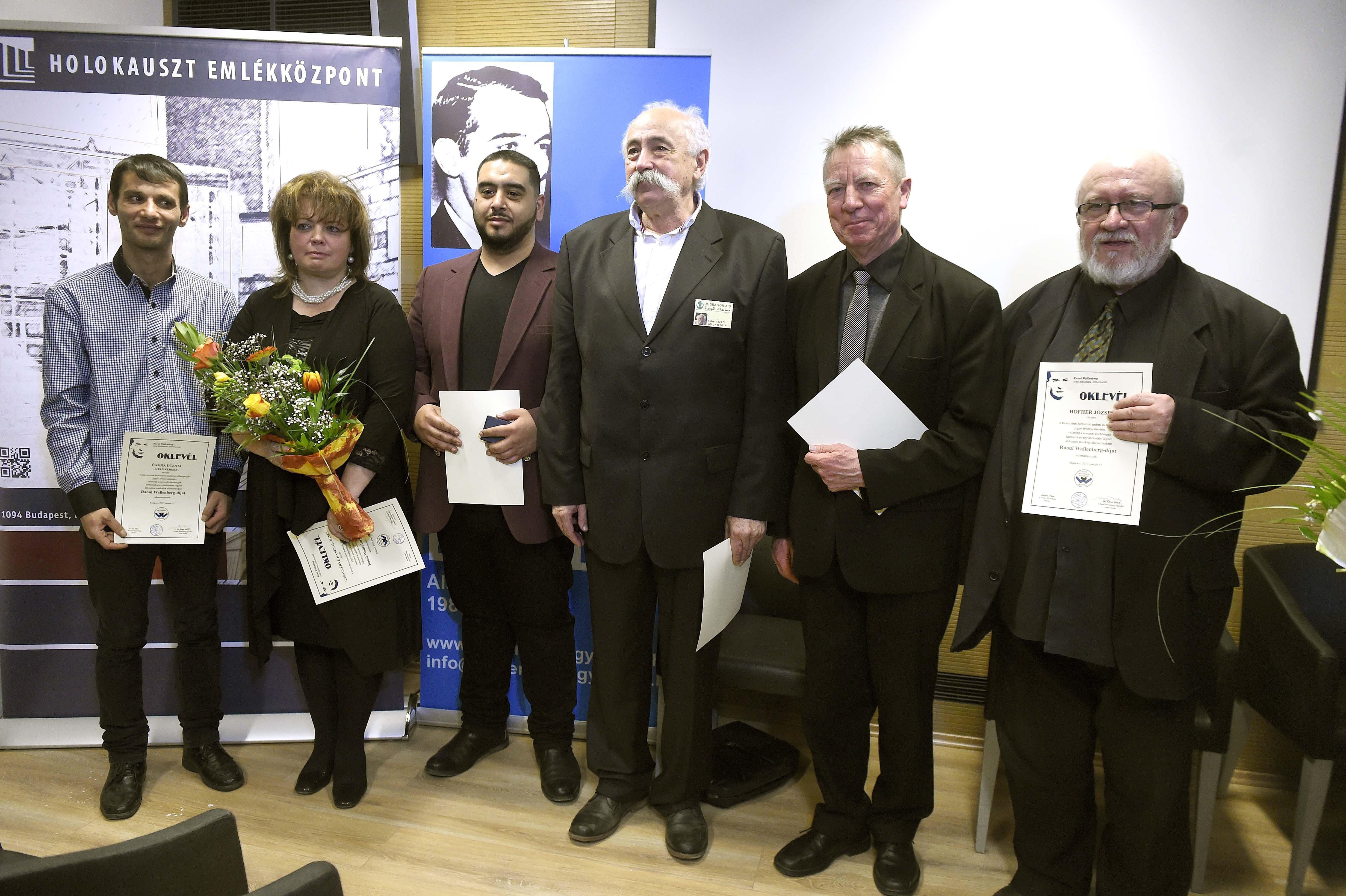 Beer Miklós és Hofher József kapta a Raoul Wallenberg-díjat