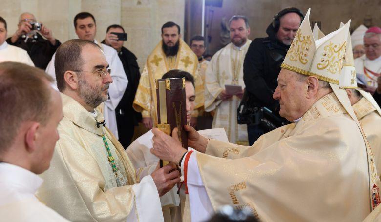 Püspökszentelés volt Gyulafehérváron
