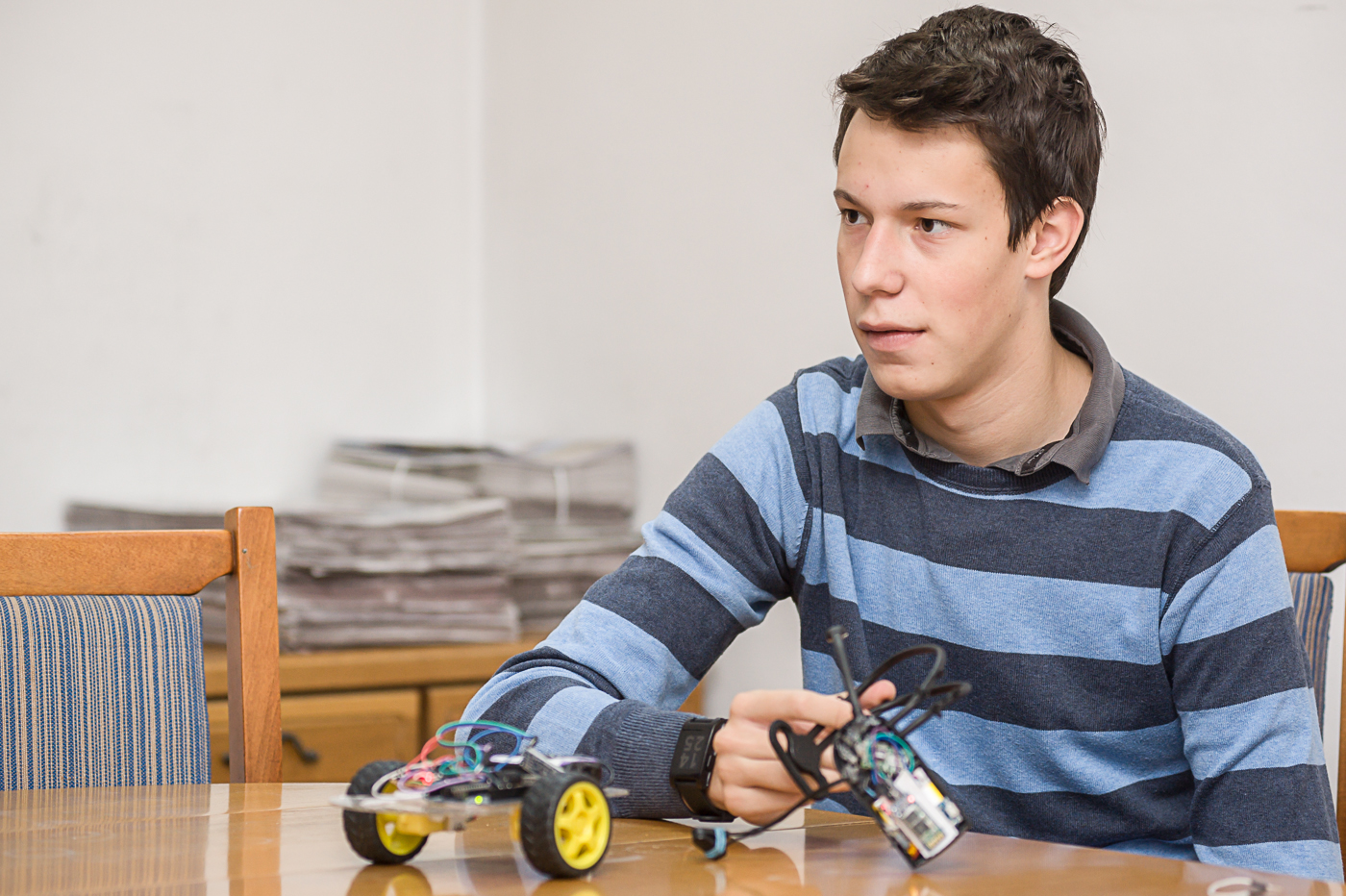 A középiskolás fiú életmentő találmánya