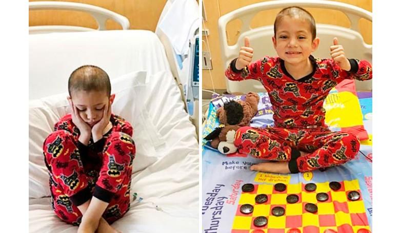 Társasjáték-paplanhuzat: gyorsabban telnek a beteg gyerek napjai