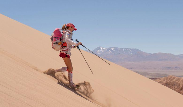 Lubics Szilvia ultrafutó harmadik lett a Namib Race-en