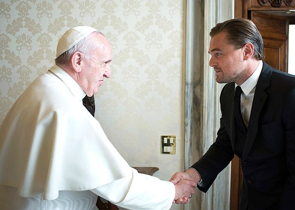 Filmben szerepelhet Ferenc pápa