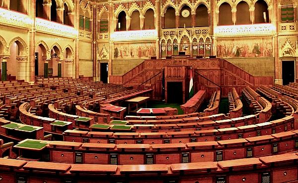 Kislány a parlamentben