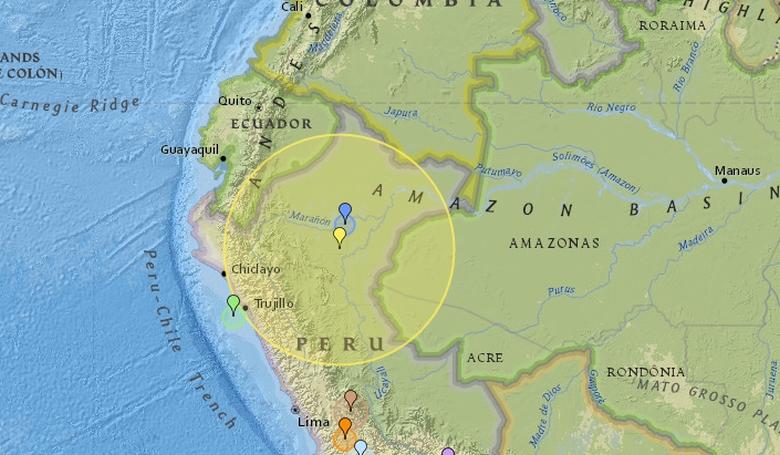 Akkora földrengés volt Peruban, hogy még Brazíliában is érezték