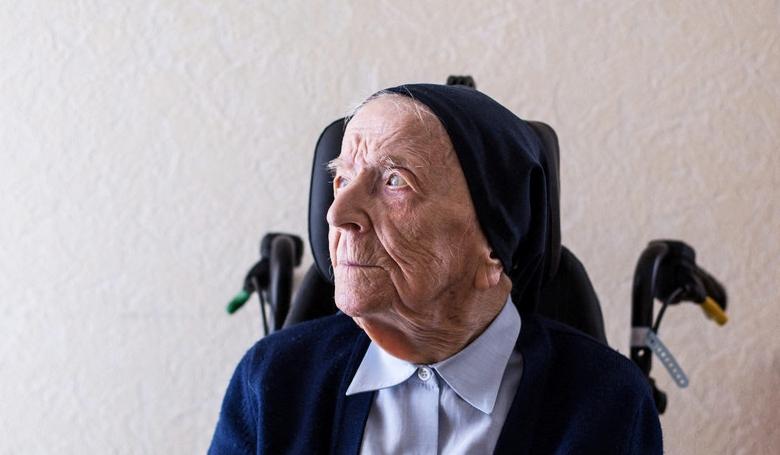 Egy 116 éves apáca Európa legidősebb embere