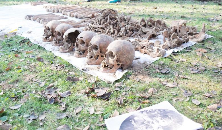 Hat holttest maradványai közül azonosították a mártír ereklyéit