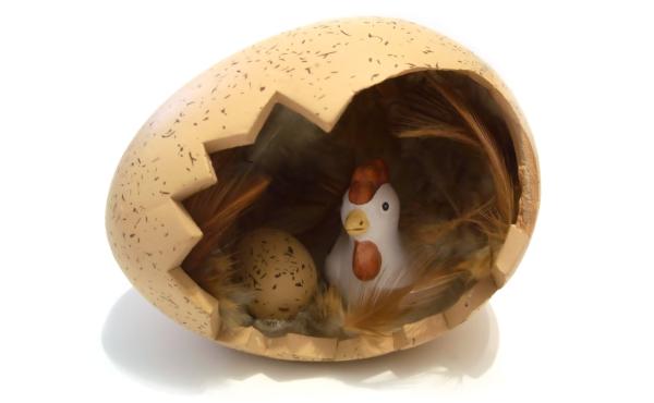 A tyúk, a tojás és a Jóisten