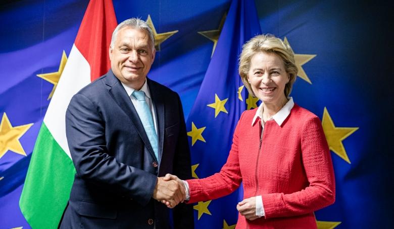 """""""Jót beszélgetett"""" az Európai Bizottság új elnöke a magyar kormányfővel"""