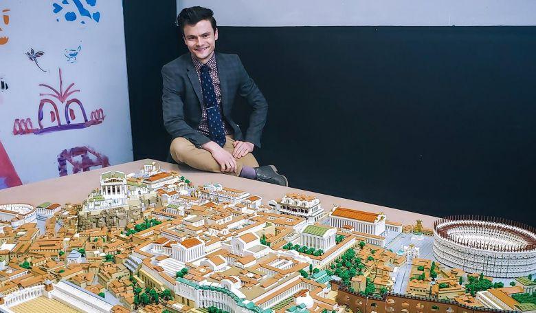 Legóvatikánt épített a nappalijában egy építész