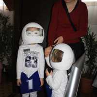 Farsangi űrhajós jelmez házilag