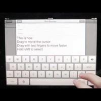 Egyszerűbb szövegszerkesztést az iPad-re!