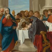 Az Úr körülmetéltetése és Karácsony nyolcada - Kiskarácsony II. oszt. duplex. — Parancsolt ünnep; Stációs templom: Sancta Maria trans Tiberim