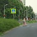 Felújítás után balesetveszélyes lett a gyalogosátkelő Újbudán