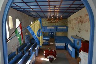 Megújultak a gidófalvi református templom Szent László falképei