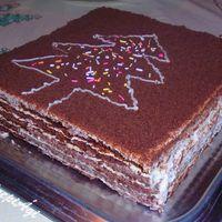 Kakaós marlenka torta
