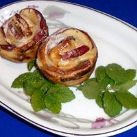 Gyors almás-túrós  sütike