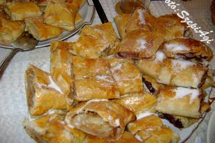 Rétes, vajas-leveles tésztából