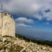 Medvegulyás az Isztria csúcsánál
