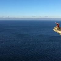 A világ vége csücskén lovagolva: Moher sziklái