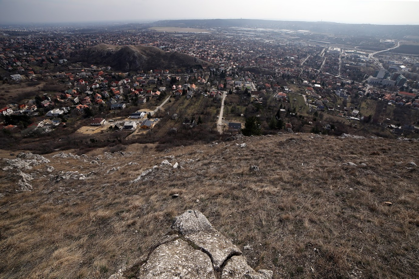 Kilátás az Odvas-hegyről