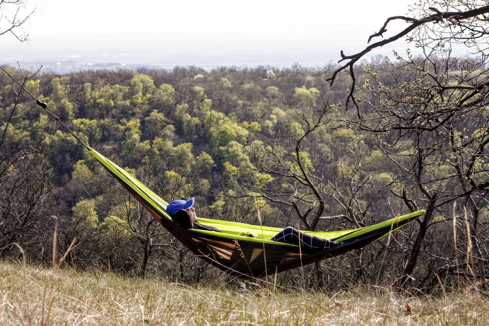 Pihenő a Szerdahelyi-vágásnál