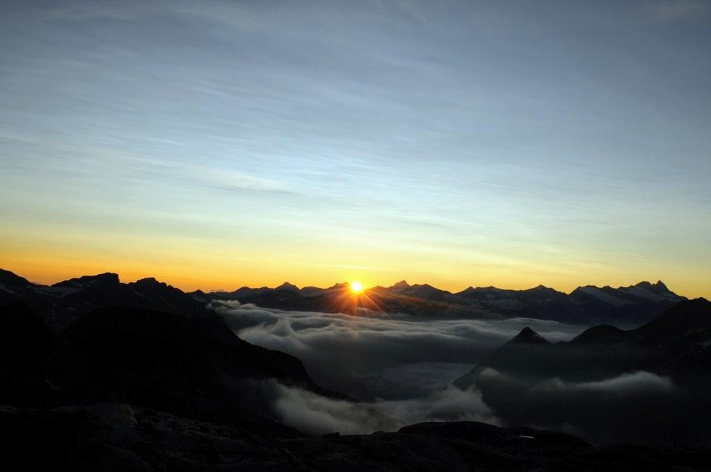 Csúcstámadás, Grossvenediger - Fotó: Molnár Anikó