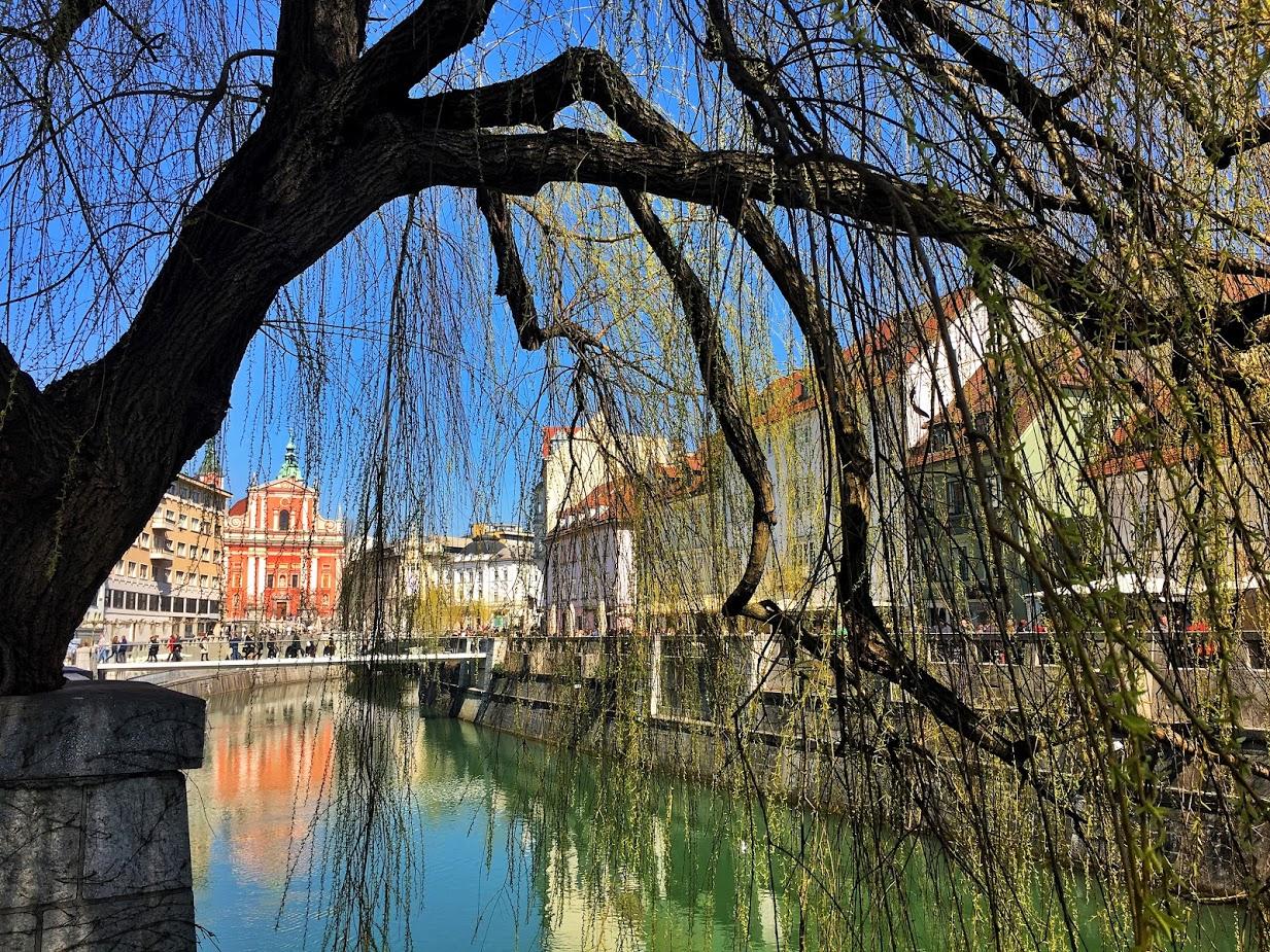 Ljubjana folyója, a Ljubjanica