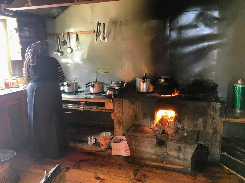 Belestem egy konyhába