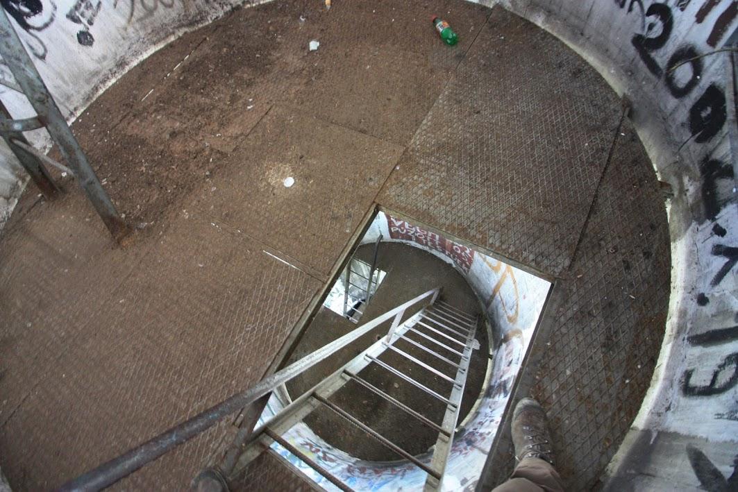 Geotorony, lépcsőház