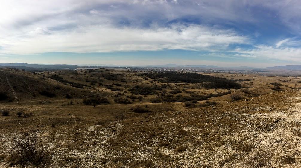 Kilátás a Péti-hegyről