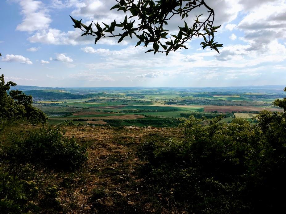 Kilátás a Kétágú-hegyről